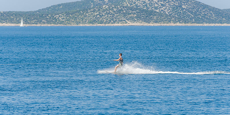 Water Skiing Gulet Sailing Croatia
